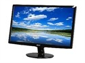 "Acer S201HLbd Black 20"" 5ms LED-Backlight LCD monitor 250 cd/m2 ACM 12,000,000:1 (1000:1)"
