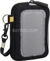 Case Logic UNZ-3 Medium Universal Pocket with Screen Protection (Black/Silver)